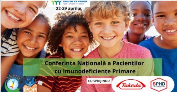 Romania: Conferința Naționala a Pacienților cu Imunodeficiențe Primare