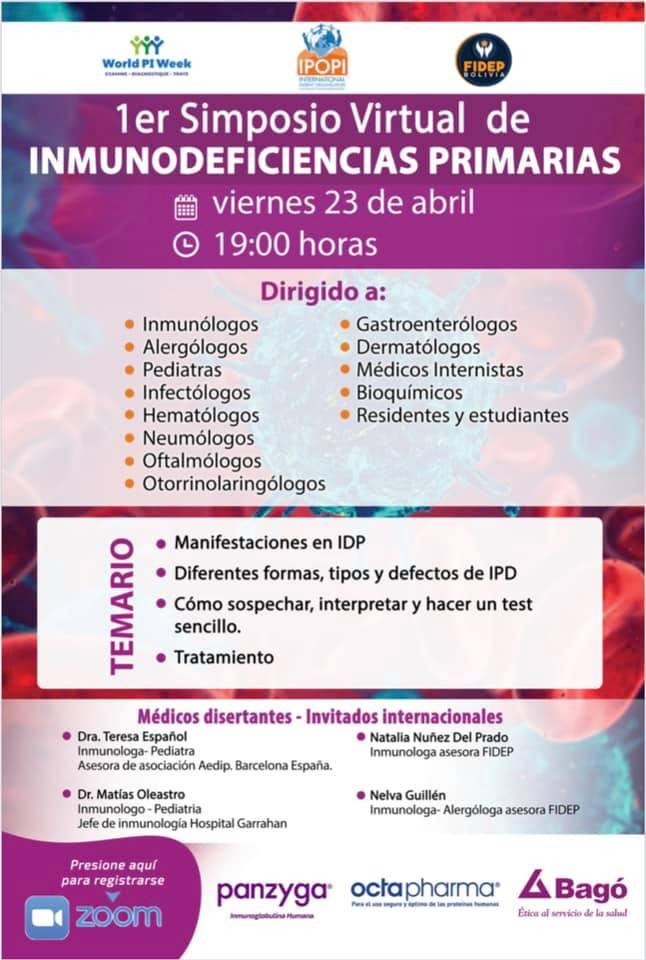 Bolivia: First PID symposium (virtual)
