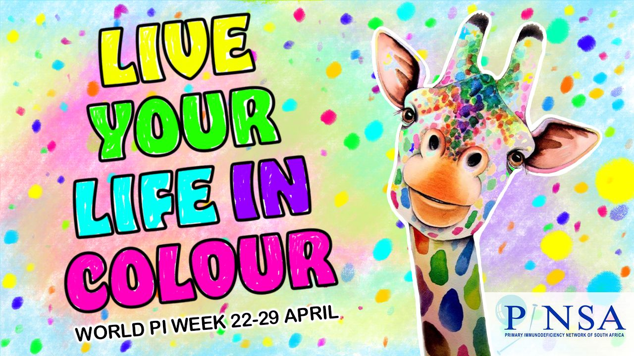 """South Africa: """"Live your life in Colour"""""""