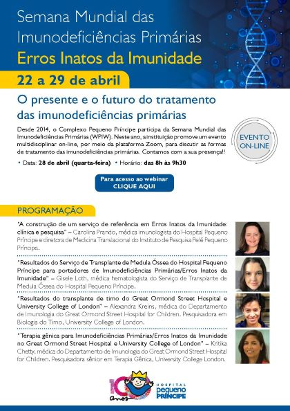 Brazil: Webinar on 'Treatment of Primary Immunodeficiencies: Present and Future'